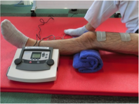 EMSを用いた筋力訓練